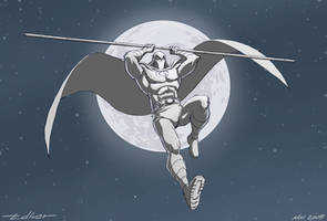 Draw Challenge 1: Moon Knight