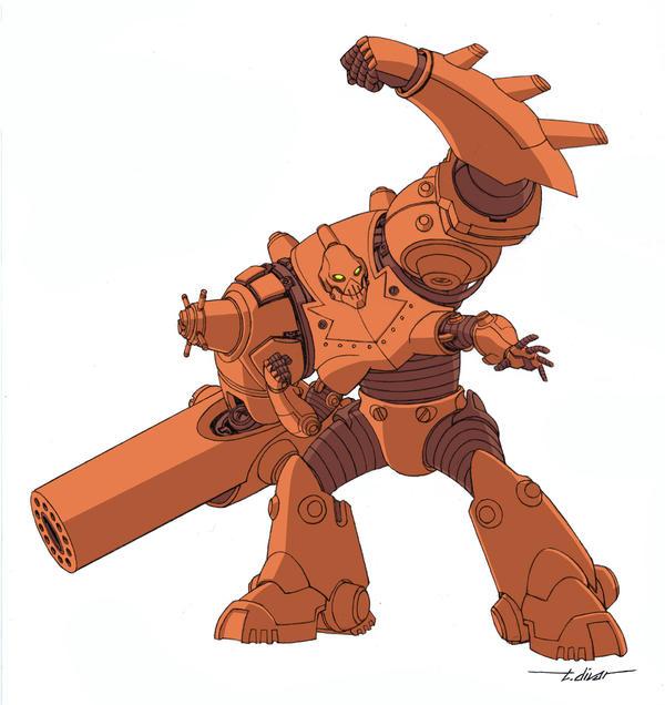 Robot from Invincible Handbook by warp-zero