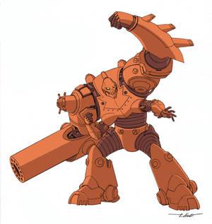 Robot from Invincible Handbook