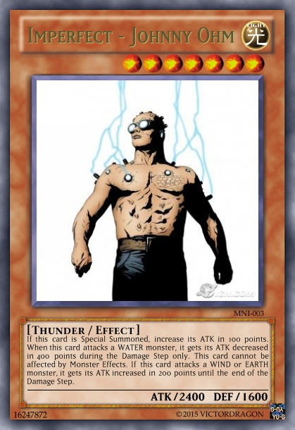 Imperfect - Johnny Ohm Card by Saiol1000 on DeviantArt  |Marvel Nemesis Johnny Ohm