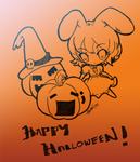 .: Halloween Tewi :.