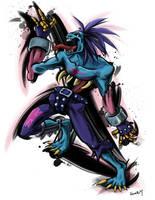 .: DS Tribute 3 :. Lord Raptor by Hikari151