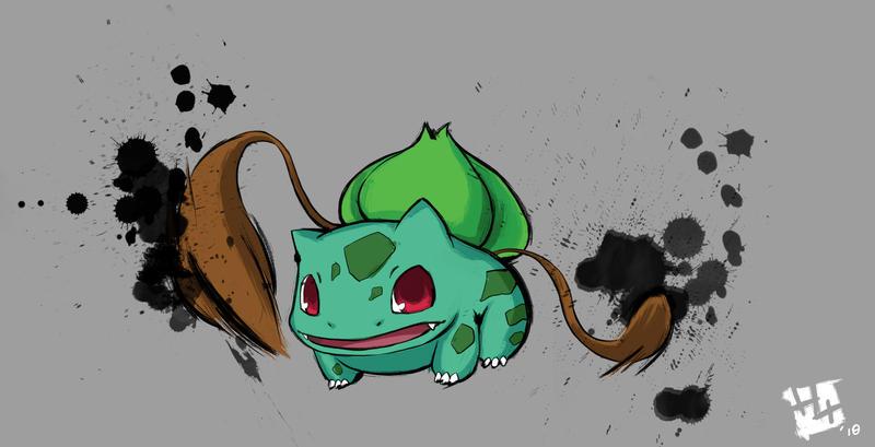 .: 001 Bulbasaur :. by Hikari151
