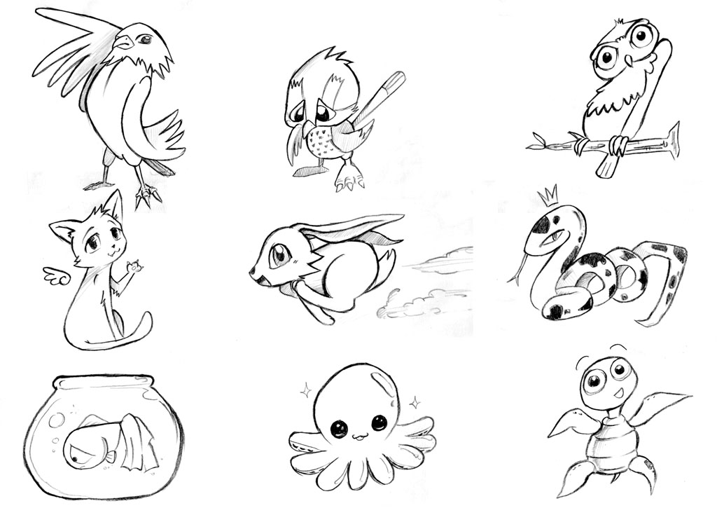 Catmask besides Cute Anime Girl Coloring Pages Free furthermore Drawing The Furry Fluffy And Feathered also Skulls Embroidery further Free Clipart Black And White Borders. on pretty animal outlines