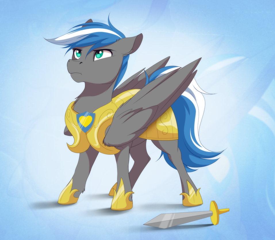 cloud zapper with armour By Dvixie by Cloudzapper8