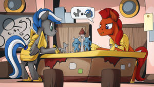 strategy room by Mysticalpha