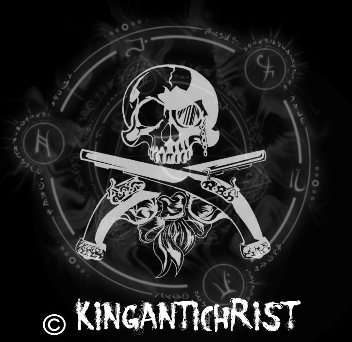 KingAntiChrist Logo by CorpseGrinder562