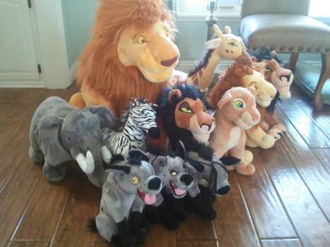 2011 Disney Store Lion King collection