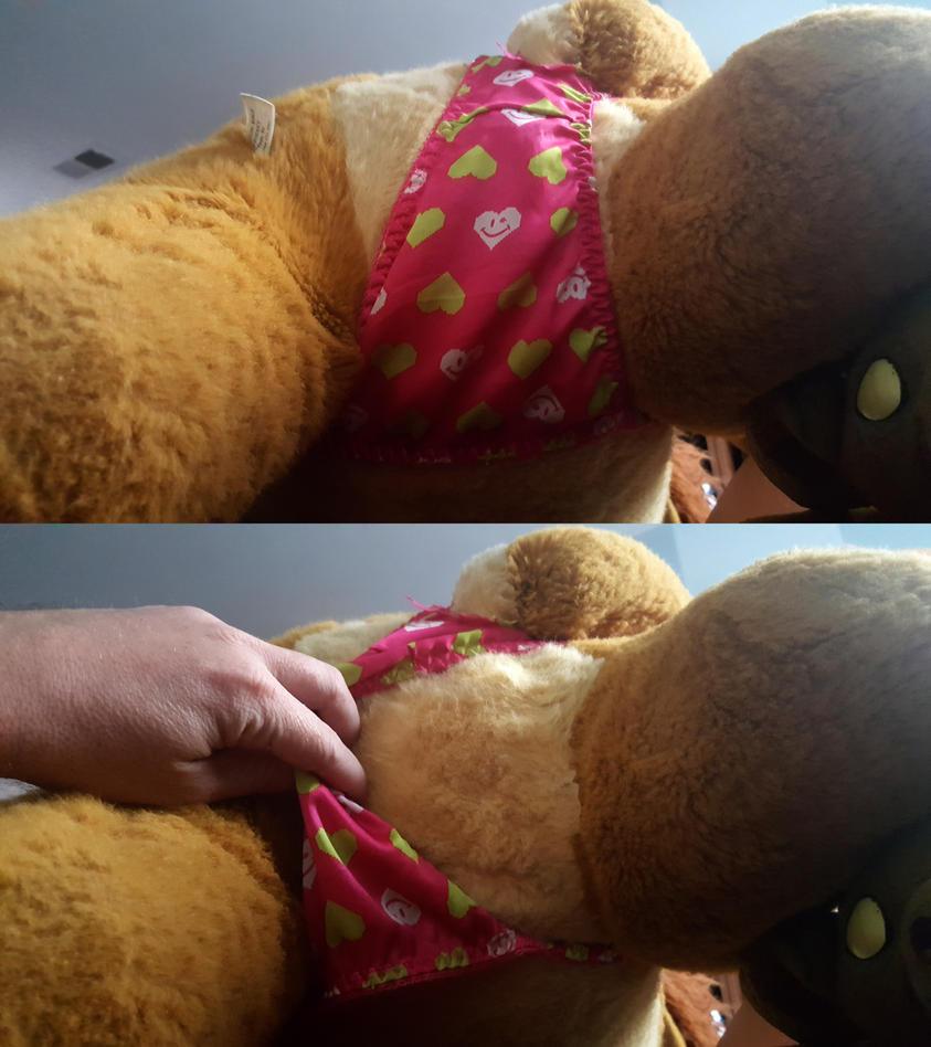 Simba under the undies by TLKfan92024