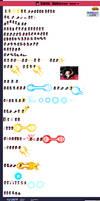 Xeno Goku SSJ4 ULSW sprite sheet by JKImmortalGaming