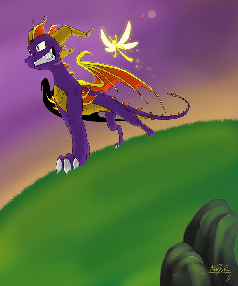 Spyro the Dragon by Insaneus