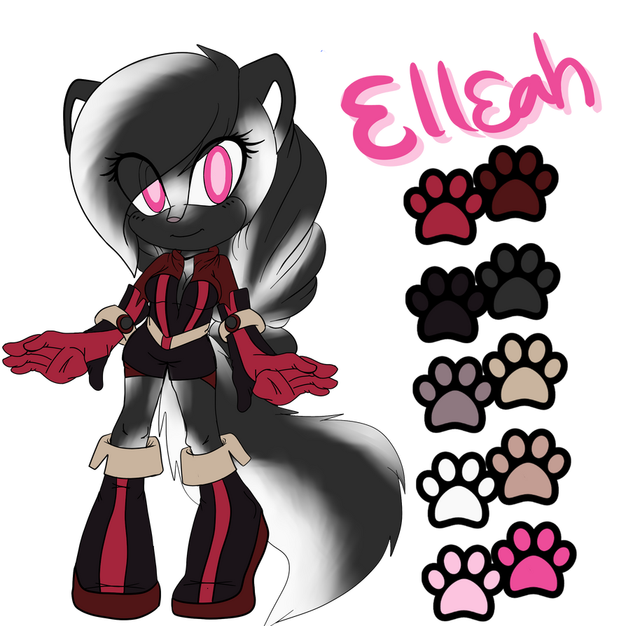 Elleah (Adopted Character) by GothicDecay