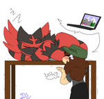 Ash Get Off My Laptop