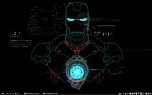 My Iron Man Desktop by MASDUKE