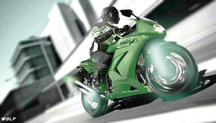 Kawasaki X Stock Graphics