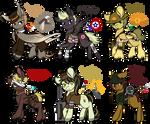 Military Pony Adopts [CLOSED]