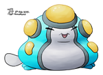 Water Type Collab - Palpitoad Shiny