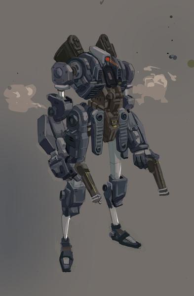 mecha02 by M3W4gunner
