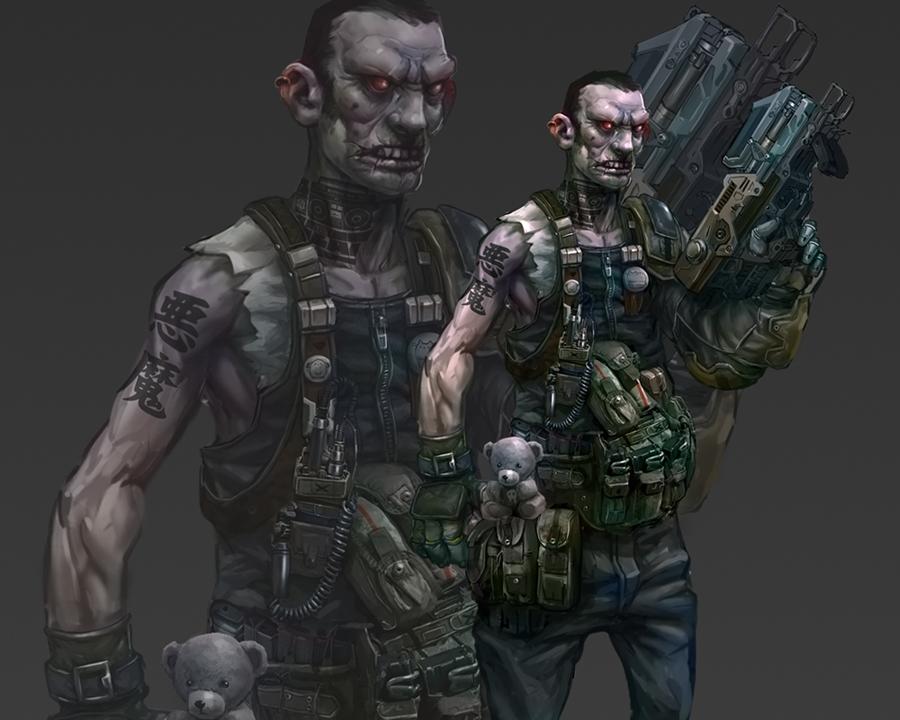 Zombiee by M3W4gunner