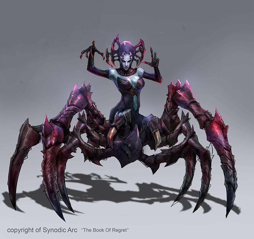 Spider by M3W4gunner