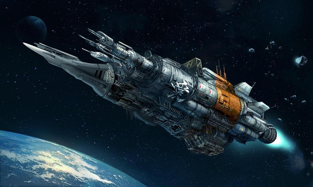 space by M3W4gunner