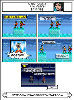 One Piece Sprite Comics