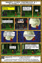 Naruto Comix Chronicles # 1