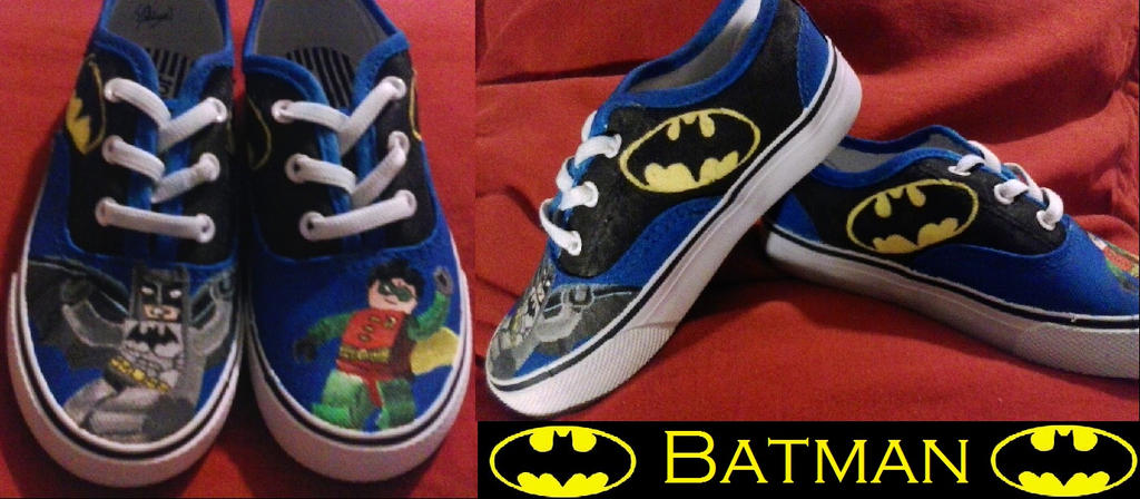Lego Batman Shoes by Rosemev