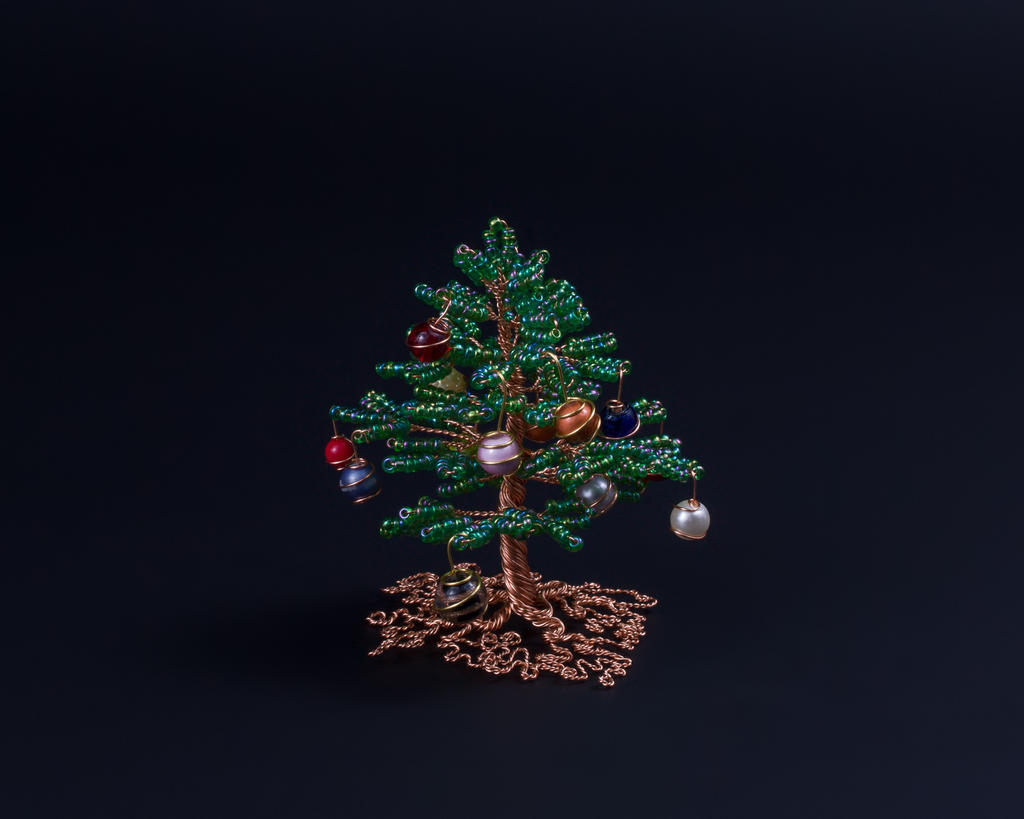 Miniature Christmas Tree Wire Schematics Wiring Diagrams Light Diagram Caroldoey Bead And By Twystedroots On How Are