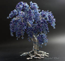 Blue wisteria by Twystedroots