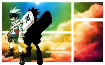 Rainbow Sky by Aisu-Hyoukai