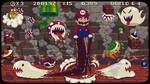 Mario adventure pixel art by R4ft3l