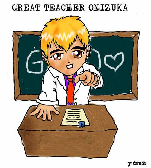 Great Teacher Onizuka SD By Yomz On DeviantArt