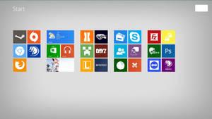 My Windows 8 Modern UI by afflucky
