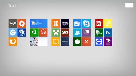 My Windows 8 Modern UI