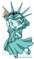 Chibi Statue of Liberty