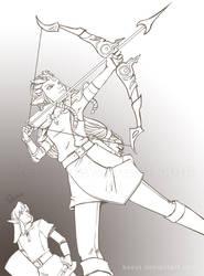 Princess Zelda by keevs