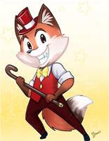 Dancing Fox by keevs