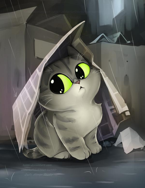 A Rainy Caturday