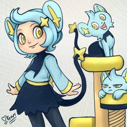 Shinx Pokemon Gijinka