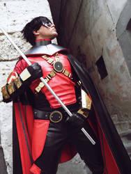 Red Robin new 52-2 by Kura-Kitsune
