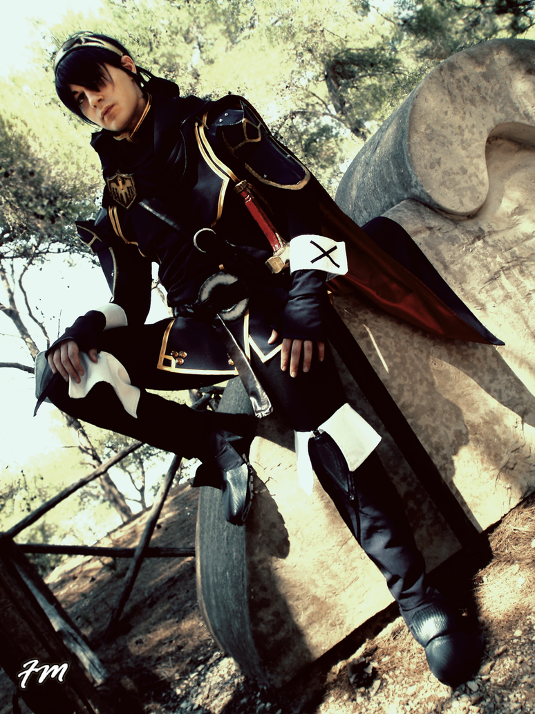 Marth - DLC  Fire Emblem Awakening - rest by Kura-Kitsune