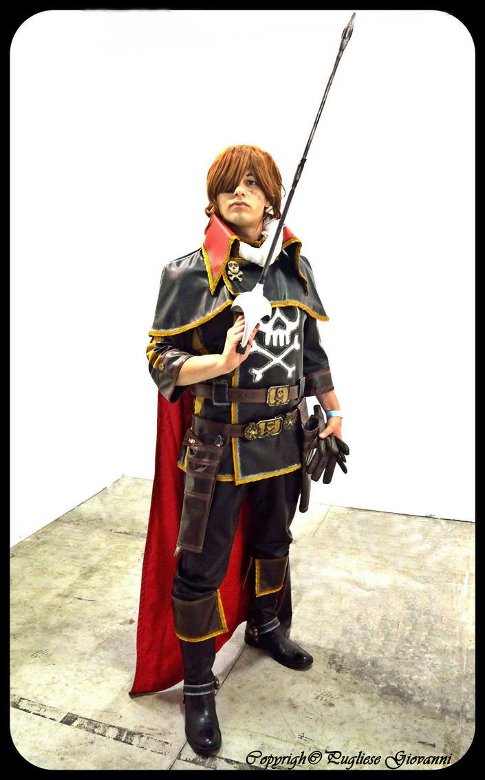 Captain Harlock - Harlock Saga 4 by Kura-Kitsune