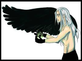 FF7: Sephiroth by Strayfish