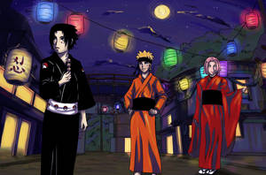 Naruto: Team Seven's Day Off