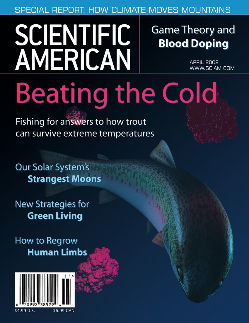 BMC - SciAm Mock Cover, 3D by Strayfish