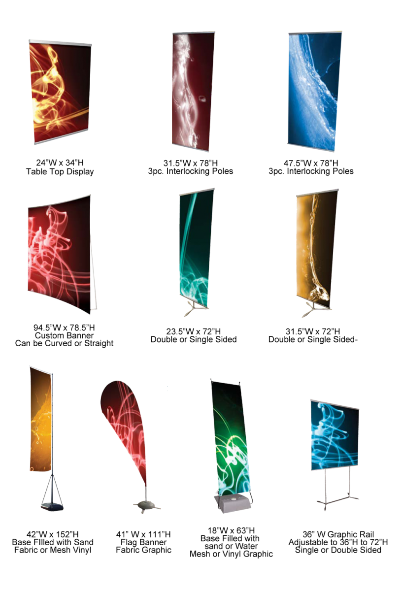 types of banner stands by bannerstands on deviantart