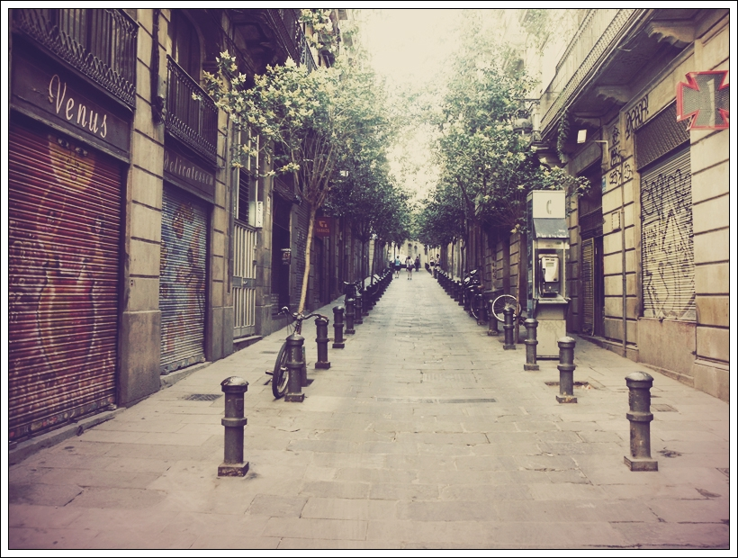 Streets of Barcelona by Fohlen11