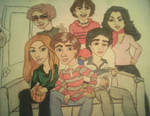 Cartoon of That 70's Show