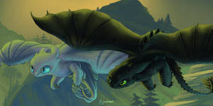 How to Train Your Dragon NightLight Pair